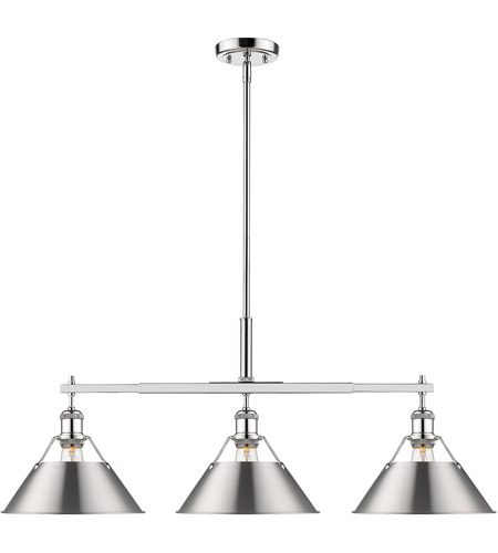 Paragon Home Black Metal Long Kitchen Island Light Pendant Light Fixture Dining Room Chandelier 70H Adjustable Length 43.3L x 9.06H Kitchen Light Fixtures with E26 Sockets Bulbs Not Included