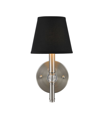 Golden Lighting 3500-1W-PW-GRM Waverly 1 Light 6 inch Pewter Wall Sconce Wall Light in Tuxedo Shade  sc 1 st  Golden Lighting Lights & Golden Lighting 3500-1W-PW-GRM Waverly 1 Light 6 inch Pewter Wall ...