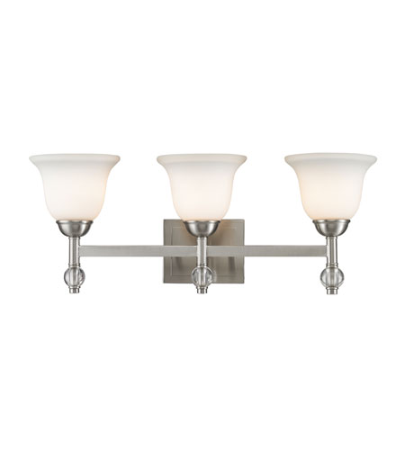 Pewter Steel Waverly Bathroom Vanity Lights