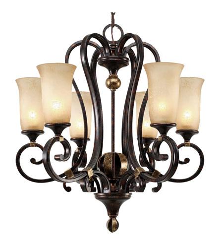 Golden Lighting Chandelier For Golden Lighting Portland Light Chandelier In Fired Bronze With Birch Glass 39666fb
