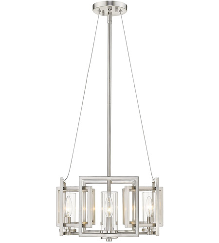 Golden Lighting 6068-SF-PW Marco 4 Light 16 inch Pewter Semi-Flushmount Ceiling Light, Convertible to Pendant alternative photo thumbnail