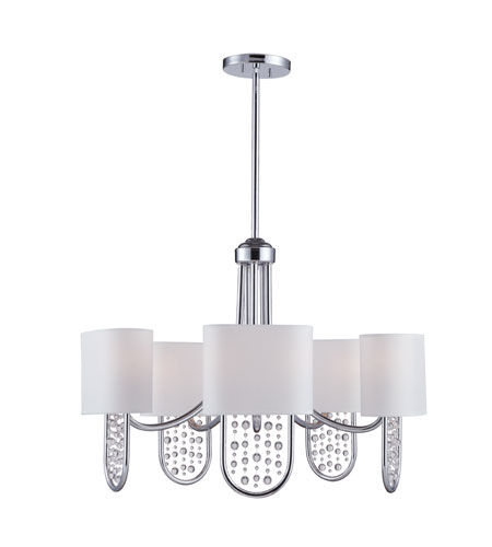 Golden Lighting Celesse 10 Light Chandelier in Chrome 7071-5-CH photo