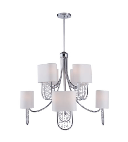 Golden Lighting Celesse 16 Light Chandelier in Chrome 7071-8-CH photo