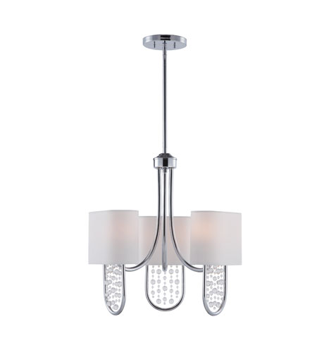 Golden Lighting Celesse 6 Light Mini Chandelier in Chrome 7071-M3-CH photo