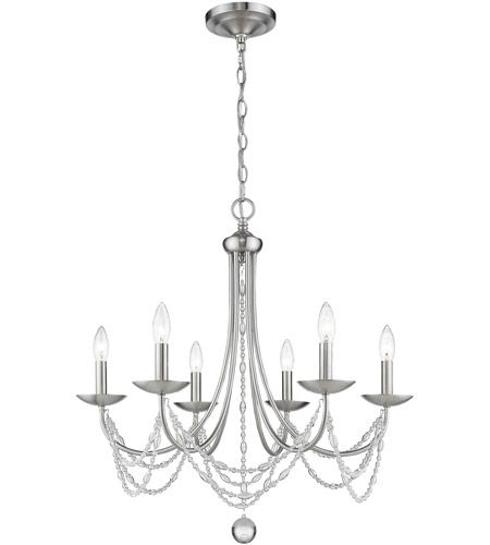 Pewter Crystal Chandeliers