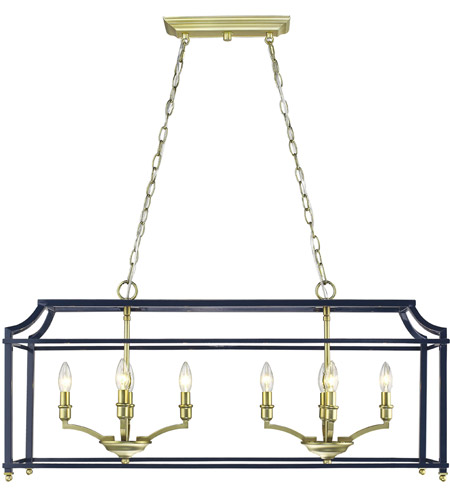 Satin Brass Steel Leighton Pendants