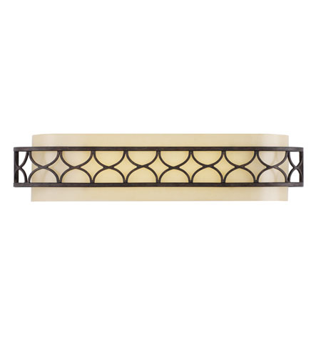 Golden Lighting Cercado 1 Light Bath Vanity in Corsini Bronze 9018-VLM-COB photo