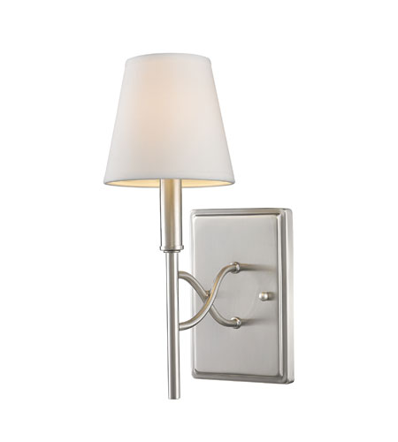 Golden Lighting Taylor 1 Light Sconce in Pewter 9106-1W-PW photo