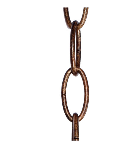 Golden Lighting Loretto Extension Chain in Russet Bronze CHAIN-RSB photo