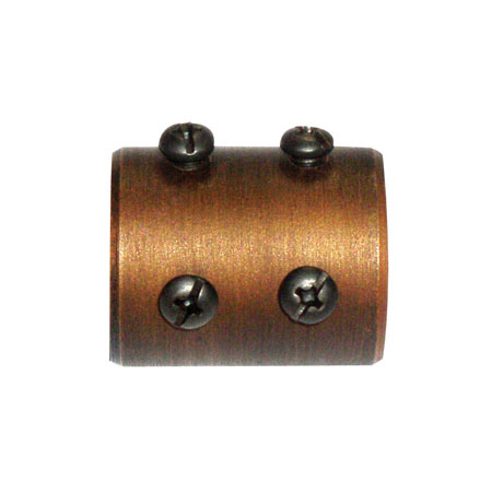 Golden Meridian Fan Coupler in Golden Bronze FANROD-CPLR-GB photo