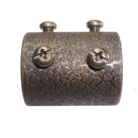 Golden Mayfair Fan Coupler in Leather Crackle FANROD-CPLR-LC photo