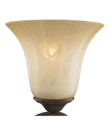 Golden Lighting Pemberly Court Glass in Swirled Ivory G1089-5 photo