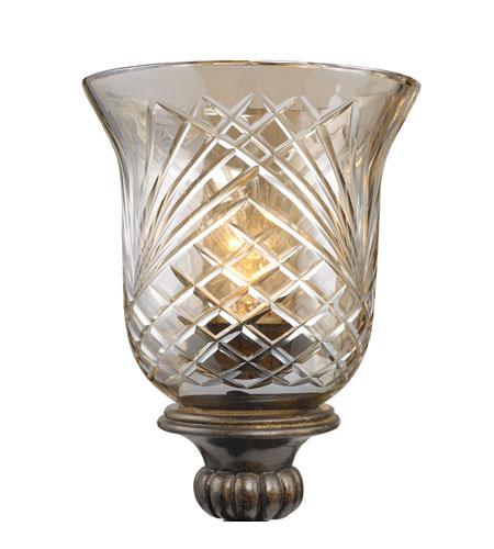 Golden Lighting Alston Place Glass in Burnt Sienna G8118-6-HC photo