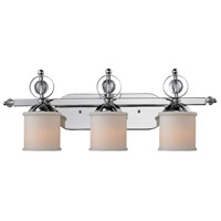Cerchi 3 Light 30 inch Chrome Bath Vanity Wall Light