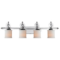 Cerchi 4 Light 41 inch Chrome Bath Vanity Wall Light