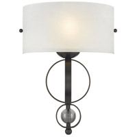 Rubbed Bronze Acrylic Wall Sconces