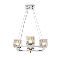 Golden Lighting Neeva 4 Light Chandelier in Chrome 1035-4-CH