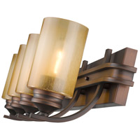 Golden Lighting 1051-BA4-SBZ Hidalgo 4 Light 33 inch Sovereign Bronze Bath Vanity Wall Light alternative photo thumbnail