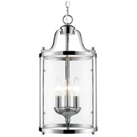 Payton 3 Light 9 inch Chrome Foyer Pendant Ceiling Light