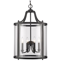 Payton 4 Light 16 inch Black Pendant Ceiling Light