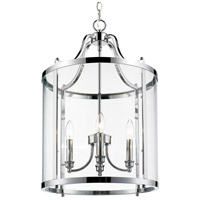 Payton 4 Light 16 inch Chrome Pendant Ceiling Light