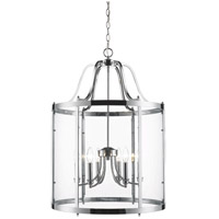 Payton 6 Light 22 inch Chrome Pendant Ceiling Light