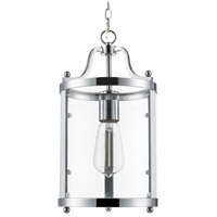 Golden Lighting Payton 1 Light Mini Pendant in Chrome 1157-M1L-CH