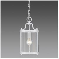 Golden Lighting 1157-M1L-WH Payton 1 Light 7 inch White Mini Pendant Ceiling Light