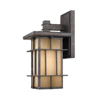 Golden Lighting Tucson 1 Light Outdoor Wall Lantern in Weathered Iron 11705-S-WI alternative photo thumbnail
