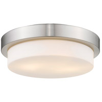 Golden Lighting Signature 2 Light Flush Mount in Pewter 1270-13-PW