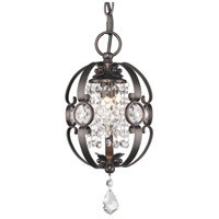 Golden Lighting Ella 1 Light Mini Pendant in Brushed Etruscan Bronze 1323-M1L-EBB