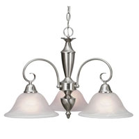 Golden Lighting Centennial 3 Light Chandelier in Pewter 139X-ND3-PW-MBL