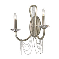 Golden Lighting Sancerre 2 Light Sconce in White Gold 1425-2W-WG