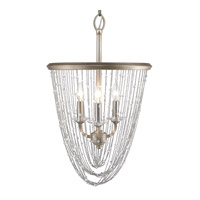 Golden Lighting Sancerre 3 Light Pendant in White Gold 1425-3P-WG