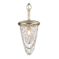 Sancerre 1 Light 7 inch White Gold Mini Pendant Ceiling Light