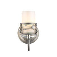 Golden Joia 1 Light Bath Fixture in Peruvian Silver 1993-BA1-PS