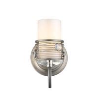 Golden Lighting 1993-BA1-PS Joia 1 Light 5 inch Peruvian Silver Bath Vanity Wall Light