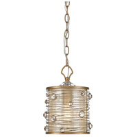 Joia 1 Light 7 inch Peruvian Gold Mini Pendant Ceiling Light