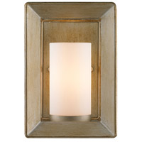 Smyth 1 Light 4 inch White Gold Wall Sconce Wall Light in Opal Glass