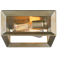 Golden Lighting Smyth 2 Light Flush Mount in White Gold 2073-FM-WG