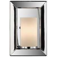 Smyth 1 Light 6 inch Chrome Wall Sconce Wall Light in Opal Glass