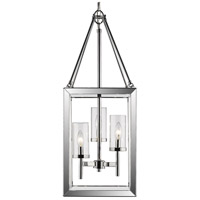 Smyth 3 Light 12 inch Chrome Pendant Ceiling Light