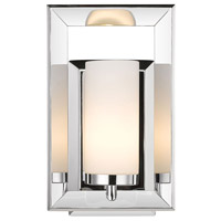 Golden Lighting Smyth 1 Light Bath Vanity in Chrome 2074-BA1-CH