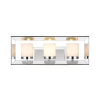 Smyth 3 Light 19 inch Chrome Bath Vanity Wall Light