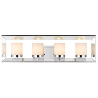 Golden Lighting Smyth 4 Light Bath Vanity in Chrome 2074-BA4-CH