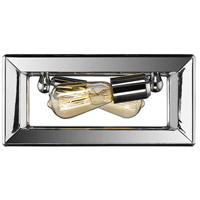 Smyth 2 Light 12 inch Chrome Flush Mount Ceiling Light