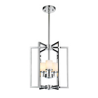 Golden Lighting Baxley 3 Light Pendant in Chrome 2081-3P-CH