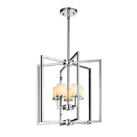Golden Lighting Baxley 5 Light Chandelier in Chrome 2081-5-CH