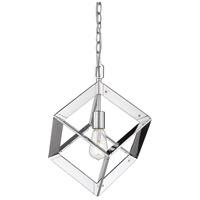 Golden Lighting 2083-M1L-CH Architect 1 Light 14 inch Chrome Mini Pendant - Damp Ceiling Light