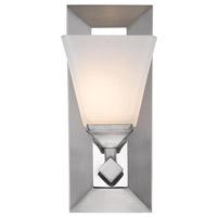 Golden Lighting 2112-BA1-PW-OP Gentry 1 Light 5 inch Pewter Bath Vanity Wall Light
